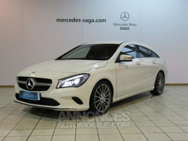 Mercedes CLA Shooting Brake 180 d Sensation 7G-DCT BLANC Occasion - 0