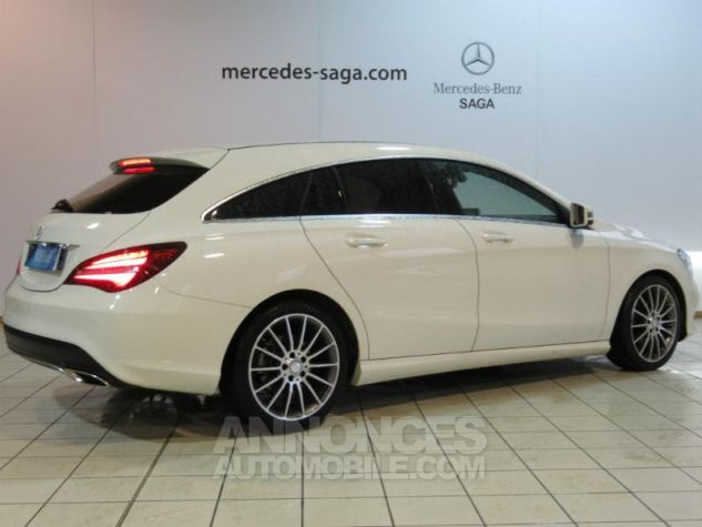 Mercedes CLA Shooting Brake 180 d Sensation 7G-DCT BLANC Occasion - 1