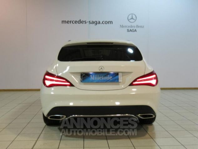Mercedes CLA Shooting Brake 180 d Sensation 7G-DCT BLANC Occasion - 3
