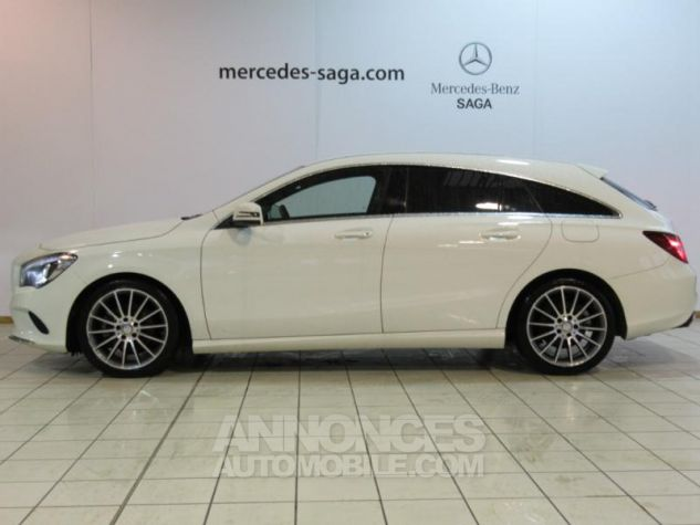 Mercedes CLA Shooting Brake 180 d Sensation 7G-DCT BLANC Occasion - 4