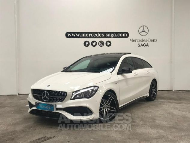 Mercedes CLA Shooting Brake 180 d WhiteArt Edition Blanc Occasion - 0