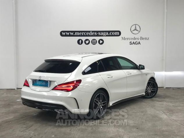 Mercedes CLA Shooting Brake 180 d WhiteArt Edition Blanc Occasion - 1