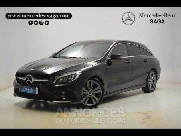 Mercedes CLA Shooting Brake 180 Sensation 7G-DCT Noir Métal Occasion - 2