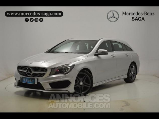 Mercedes CLA Shooting Brake 200 d Business Executive 7G-DCT argent polaire Occasion - 0