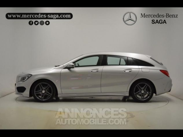 Mercedes CLA Shooting Brake 200 d Business Executive 7G-DCT argent polaire Occasion - 11