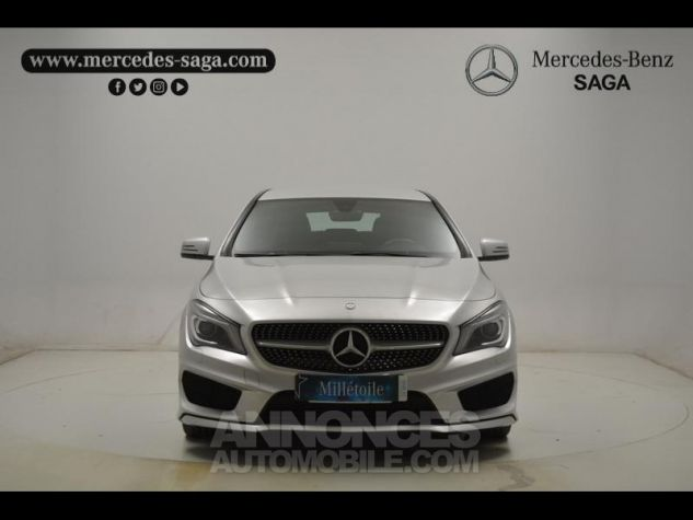 Mercedes CLA Shooting Brake 200 d Business Executive 7G-DCT argent polaire Occasion - 12