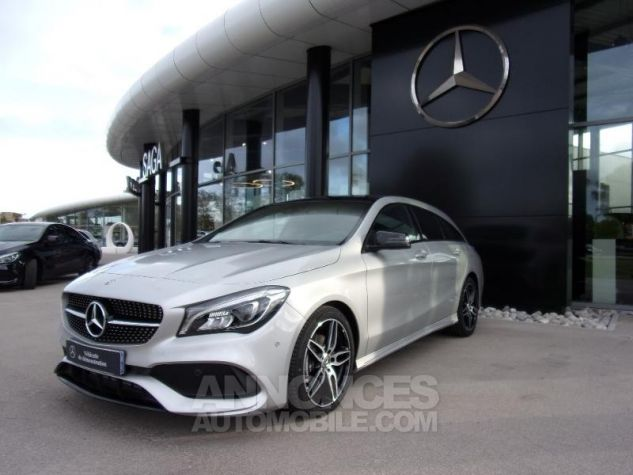 Mercedes CLA Shooting Brake 200 d Fascination 7G-DCT Euro6c ARGENT Neuf - 0