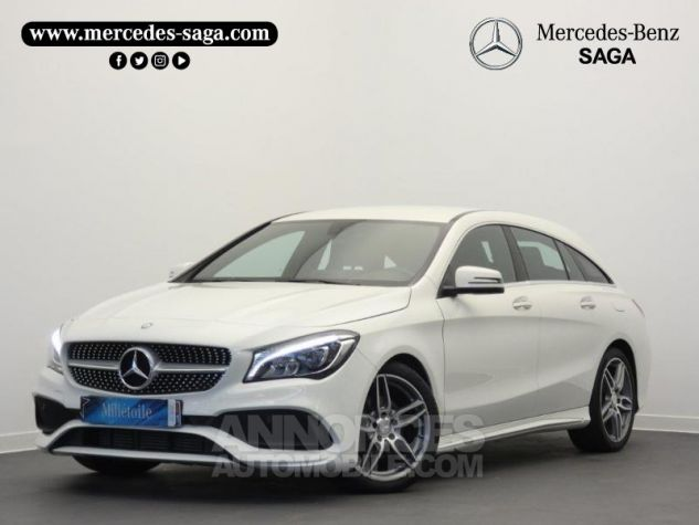 Mercedes CLA Shooting Brake 200 d Launch Edition 7G-DCT Blanc Cirrus Occasion - 0