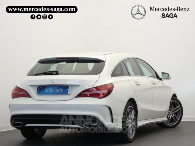 Mercedes CLA Shooting Brake 200 d Launch Edition 7G-DCT Blanc Cirrus Occasion - 1