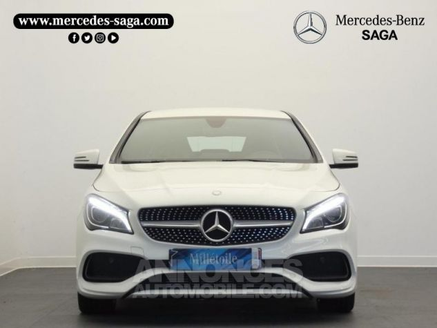 Mercedes CLA Shooting Brake 200 d Launch Edition 7G-DCT Blanc Cirrus Occasion - 4