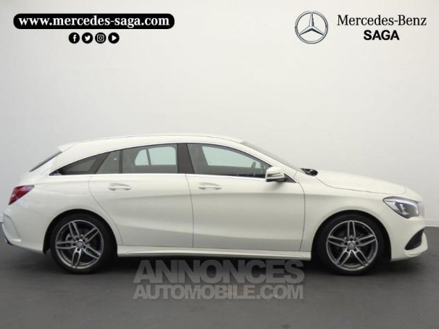 Mercedes CLA Shooting Brake 200 d Launch Edition 7G-DCT Blanc Cirrus Occasion - 5