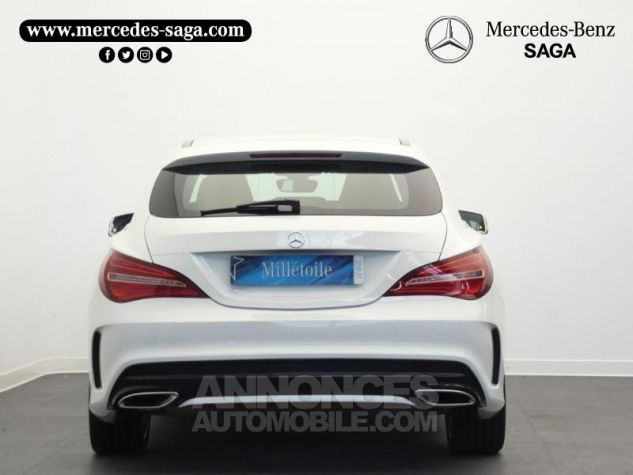 Mercedes CLA Shooting Brake 200 d Launch Edition 7G-DCT Blanc Cirrus Occasion - 6