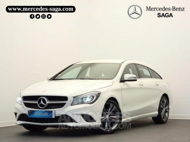 Mercedes CLA Shooting Brake 200 d Sensation Blanc Cirrus Occasion - 0
