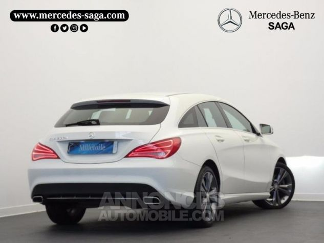 Mercedes CLA Shooting Brake 200 d Sensation Blanc Cirrus Occasion - 1
