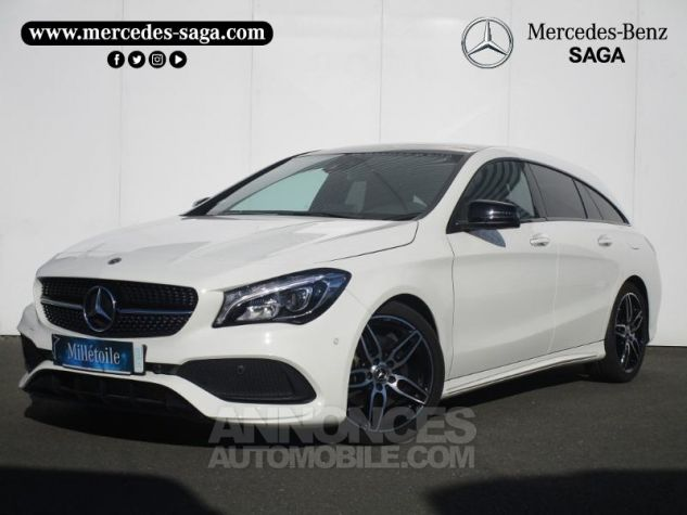 Mercedes CLA Shooting Brake 220 d Fascination 4Matic 7G-DCT Blanc Cirrus Occasion - 0