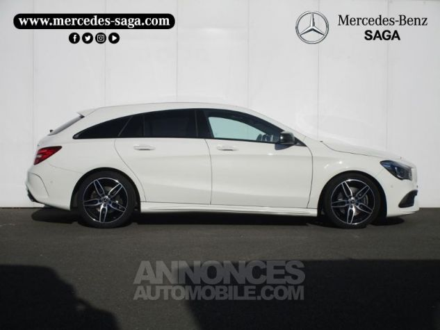 Mercedes CLA Shooting Brake 220 d Fascination 4Matic 7G-DCT Blanc Cirrus Occasion - 1