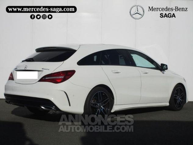 Mercedes CLA Shooting Brake 220 d Fascination 4Matic 7G-DCT Blanc Cirrus Occasion - 2