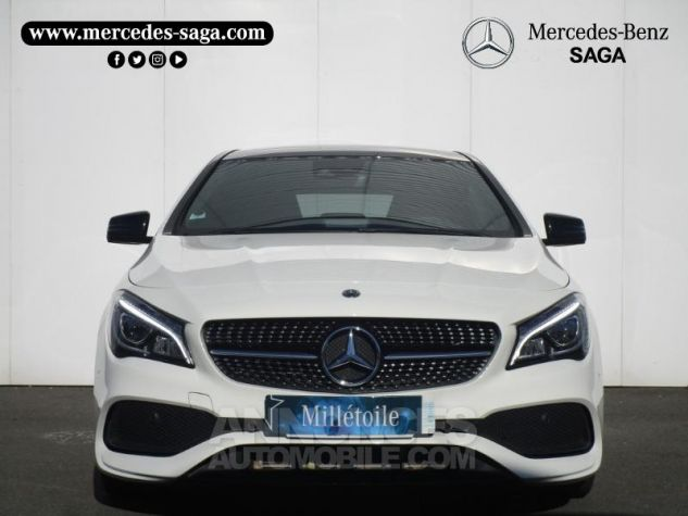 Mercedes CLA Shooting Brake 220 d Fascination 4Matic 7G-DCT Blanc Cirrus Occasion - 3