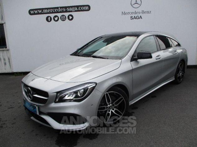 Mercedes CLA Shooting Brake 220 d Fascination 7G-DCT Argent Polaire métallisé Occasion - 0