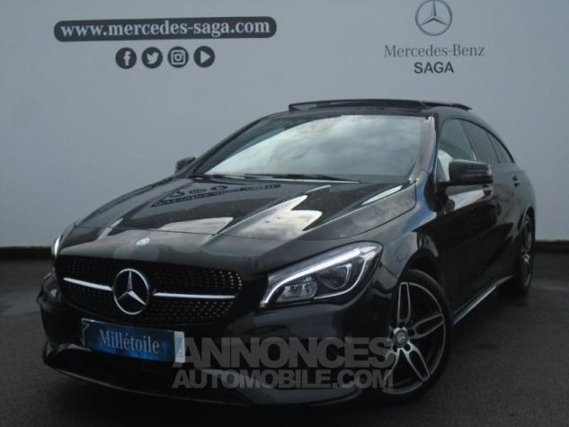 Mercedes CLA Shooting Brake 220 d Fascination 7G-DCT NOIR Occasion - 0
