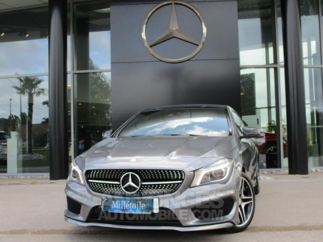Mercedes CLA Shooting Brake 220 d Fascination 7G-DCT Gris Montagne Occasion - 0