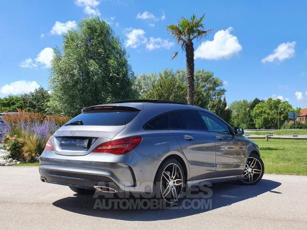 Mercedes CLA Shooting Brake 220 d Fascination 7G-DCT Gris Montagne Métallisé Occasion - 1