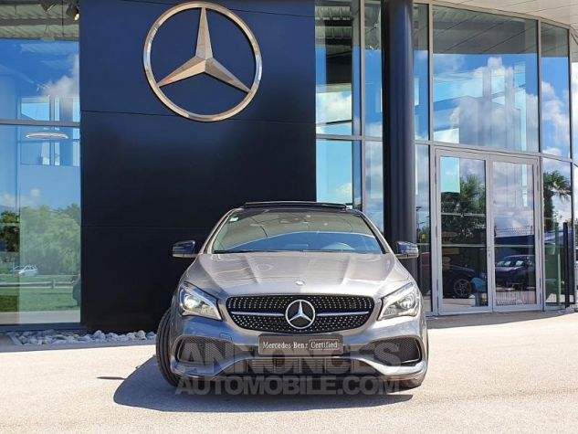 Mercedes CLA Shooting Brake 220 d Fascination 7G-DCT Gris Montagne Métallisé Occasion - 5