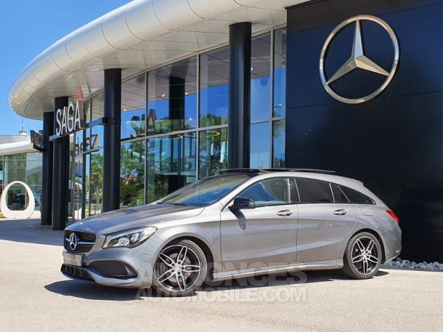 Mercedes CLA Shooting Brake 220 d Fascination 7G-DCT Gris Montagne Métallisé Occasion - 6