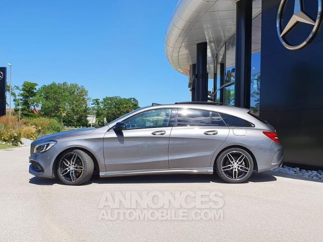 Mercedes CLA Shooting Brake 220 d Fascination 7G-DCT Gris Montagne Métallisé Occasion - 7