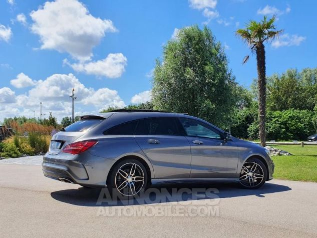 Mercedes CLA Shooting Brake 220 d Fascination 7G-DCT Gris Montagne Métallisé Occasion - 8