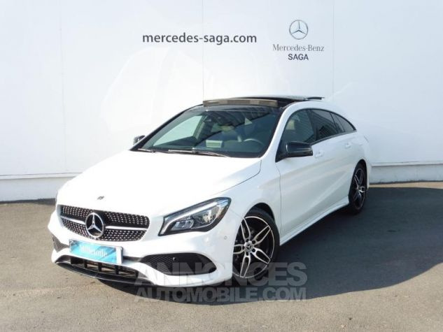 Mercedes CLA Shooting Brake 220 d Fascination 7G-DCT Euro6c Blanc polaire Occasion - 0
