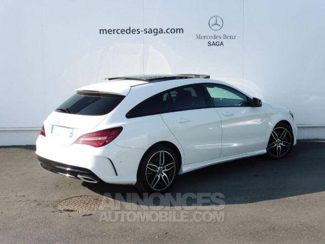 Mercedes CLA Shooting Brake 220 d Fascination 7G-DCT Euro6c Blanc polaire Occasion - 1