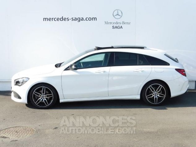 Mercedes CLA Shooting Brake 220 d Fascination 7G-DCT Euro6c Blanc polaire Occasion - 2