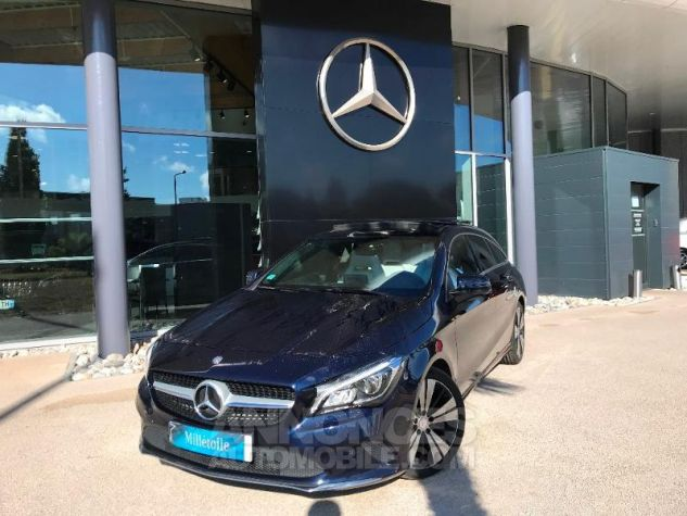 Mercedes CLA Shooting Brake 220 d Sensation 7G-DCT BLEU CAVANSITE Occasion - 0