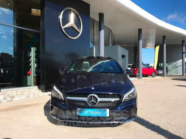 Mercedes CLA Shooting Brake 220 d Sensation 7G-DCT BLEU CAVANSITE Occasion - 1