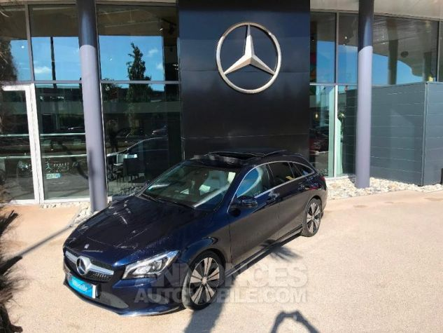 Mercedes CLA Shooting Brake 220 d Sensation 7G-DCT BLEU CAVANSITE Occasion - 6