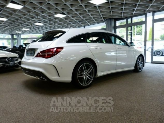 Mercedes CLA Shooting Brake 220d Pack AMG Blanc Occasion - 2