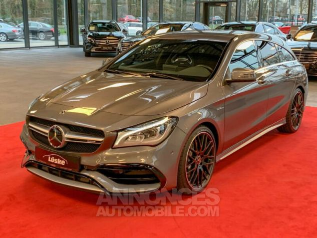 Mercedes CLA Shooting Brake 45 AMG SB 4Matic Gris Montagne Occasion - 1