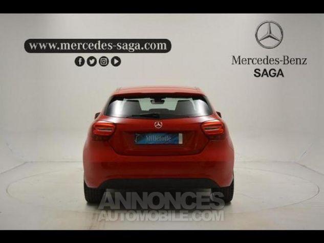 Mercedes Classe A 160 d Inspiration ROUGE JUPITER Occasion - 3