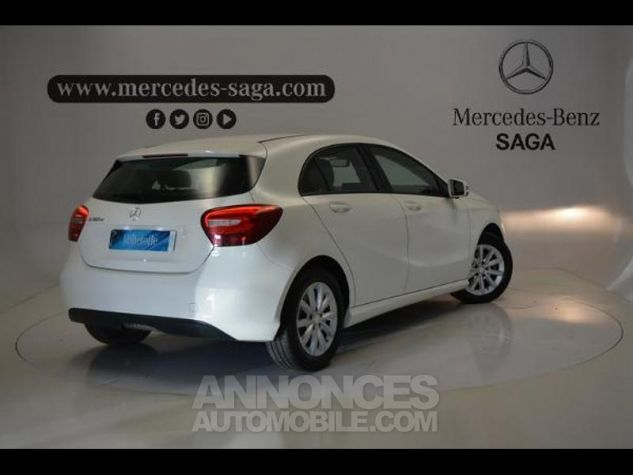 Mercedes Classe A 160 d Intuition BLANC Occasion - 1