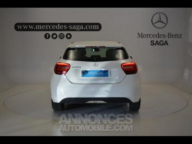 Mercedes Classe A 160 d Intuition BLANC Occasion - 3