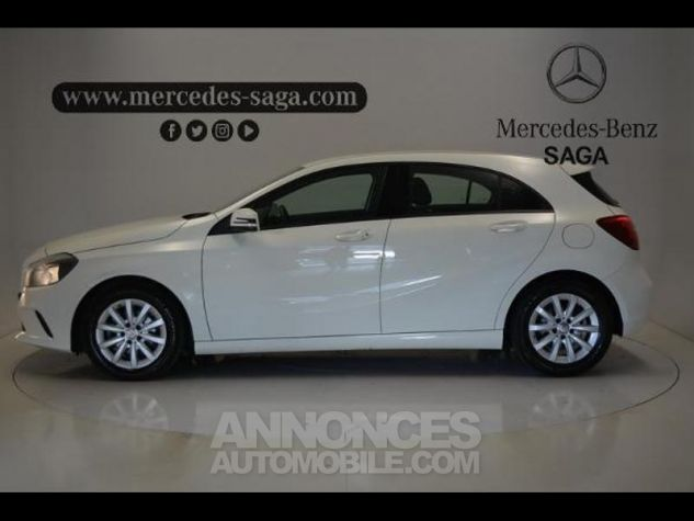 Mercedes Classe A 160 d Intuition BLANC Occasion - 4