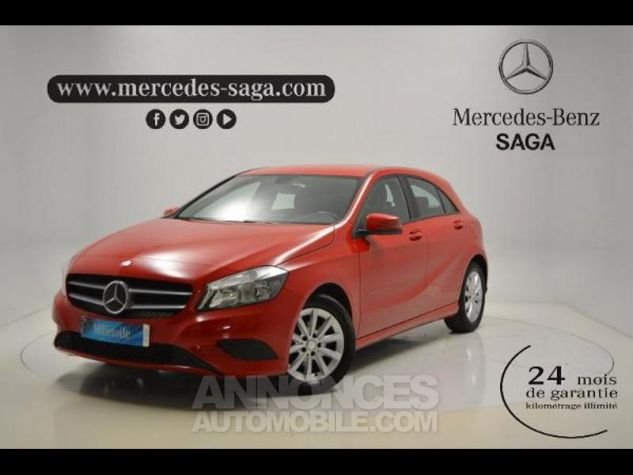 Mercedes Classe A 160 Intuition ROUGE Occasion - 0