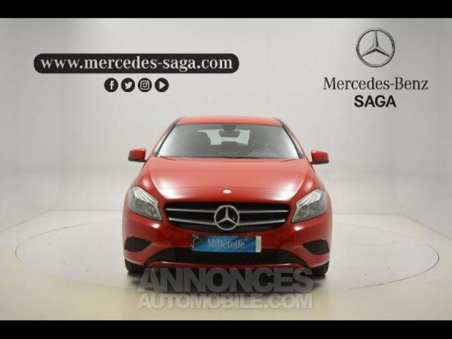 Mercedes Classe A 160 Intuition ROUGE Occasion - 2