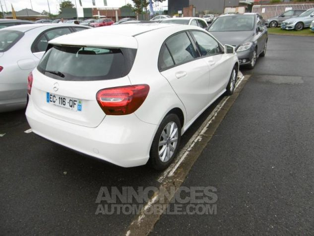 Mercedes Classe A 160 Intuition 7G-DCT blanc cirrus Occasion - 2