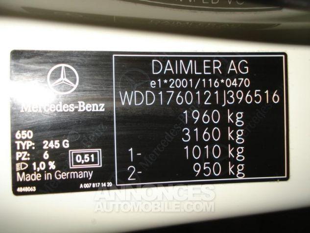 Mercedes Classe A 180 CDI Inspiration Blanc cirrus Occasion - 11