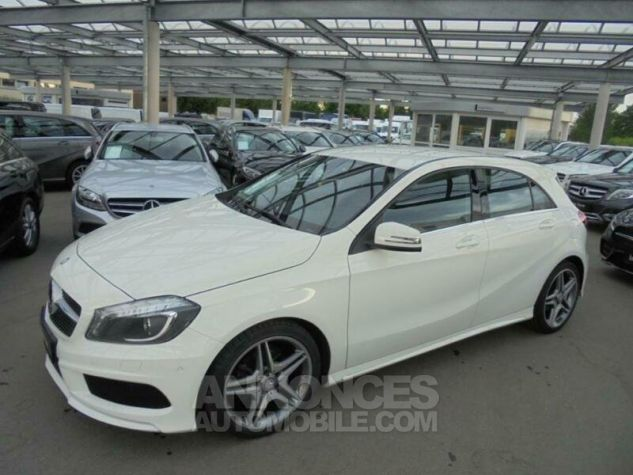 Mercedes Classe A 180 CDI Pac AMG Blanche Occasion - 0