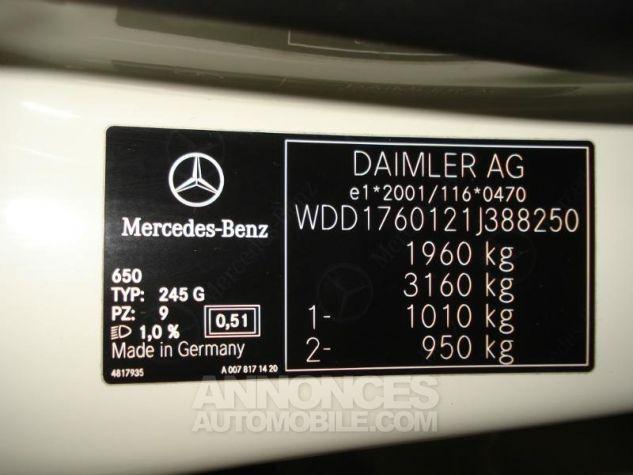 Mercedes Classe A 180 CDI Sensation BLANC Occasion - 13