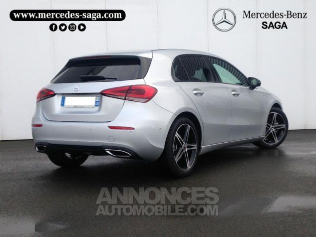 Mercedes Classe A 180 d 116ch Progressive Line 7G-DCT Argent iridium métallisé Occasion - 1