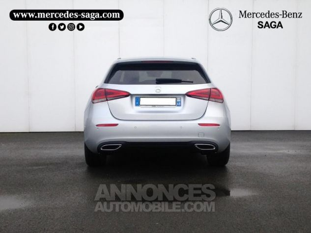 Mercedes Classe A 180 d 116ch Progressive Line 7G-DCT Argent iridium métallisé Occasion - 3